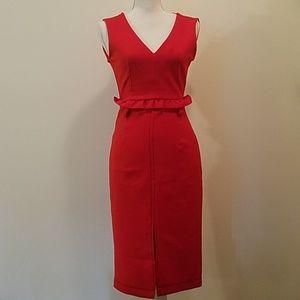 NWT red zara dress